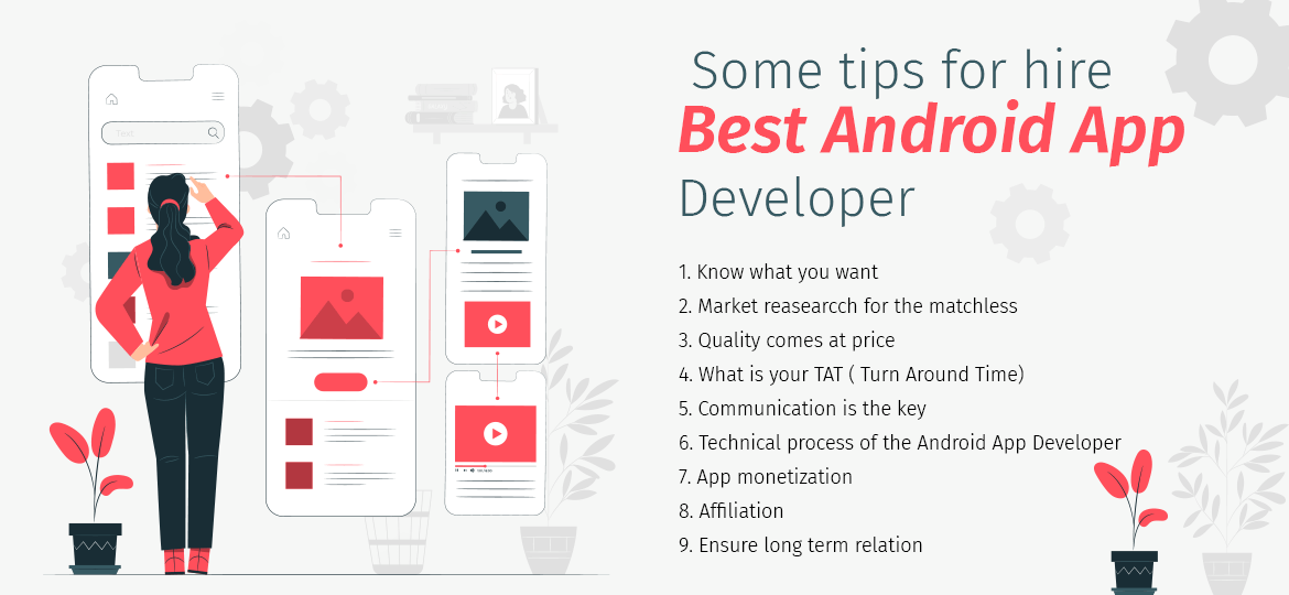 Some tips for hire Best Android App Developer