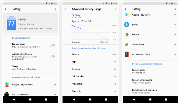 BATTERY MENU MAKEOVER
