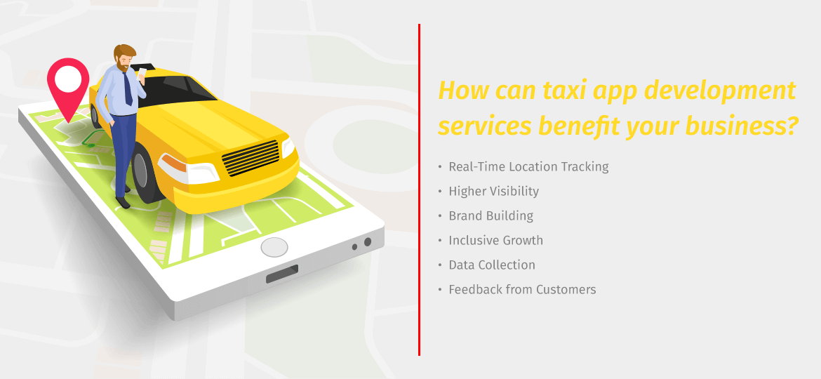 How can taxi app development services benefit your business?