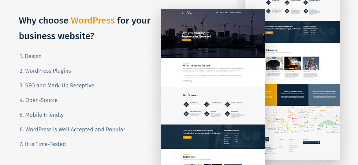 Why choose WordPress for your business website?