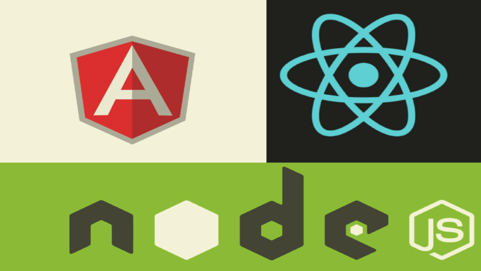React JS, Node JS and Angular JS