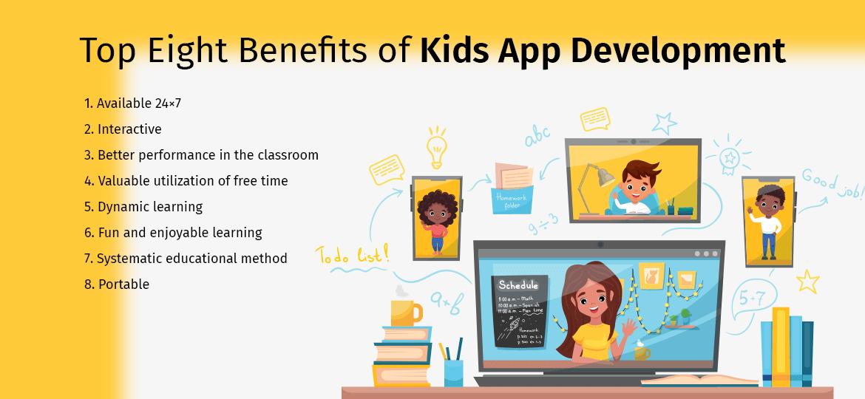 Advantages of Kids App Development