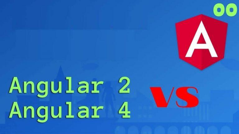 Angular 4 vs Angular 2