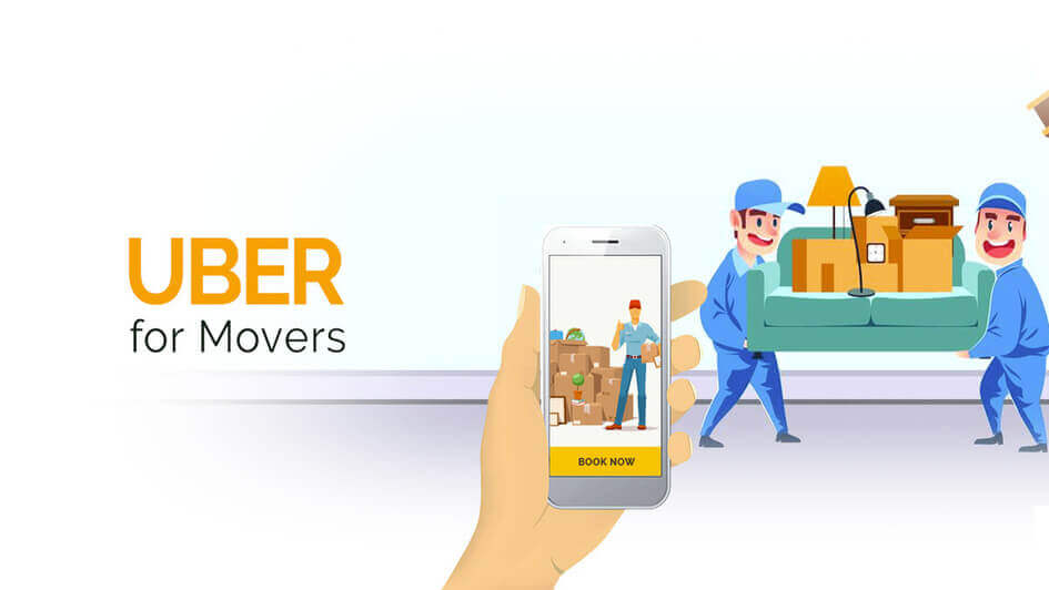 App like Uber Movers