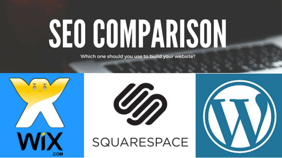 Squarespace vs WordPress vs Wix