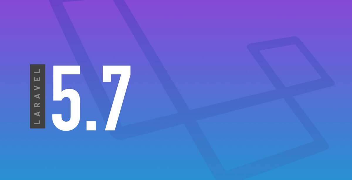 Laravel 5.7