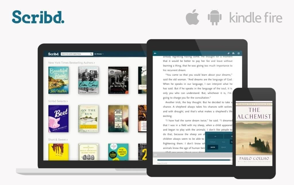 Scribd - Best app for audiobooks