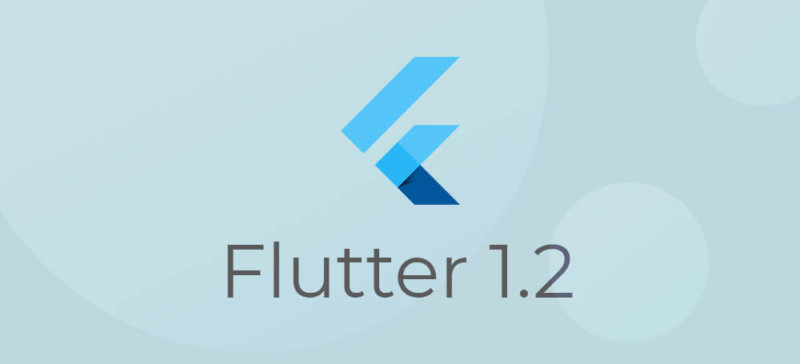 Flutter Version 1.2