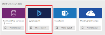 Create a POC PowerApp from D365 for Marketing and other Dynamics 365
