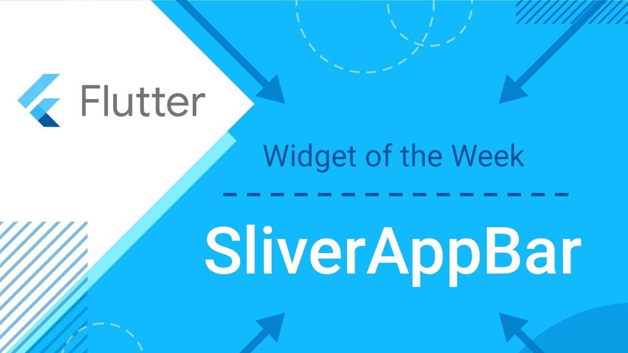 AppBar & SilverAppBar in a flutter