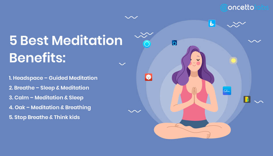 5 best meditation Benefits