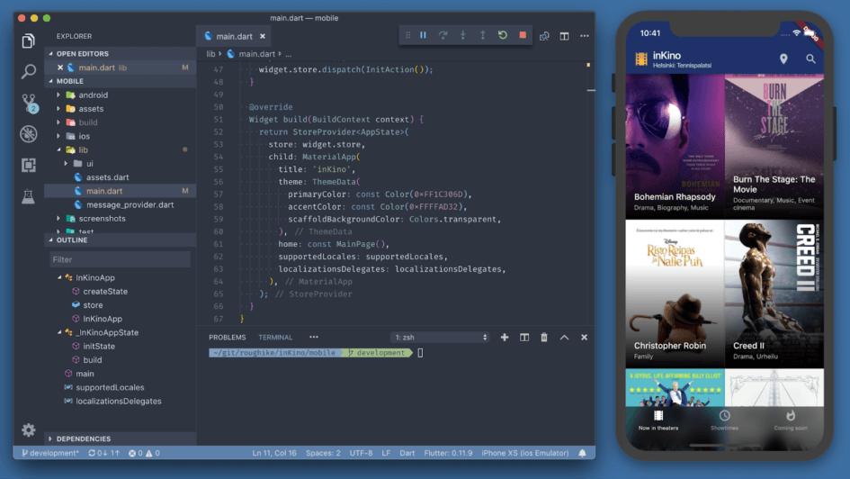 Single codebase
