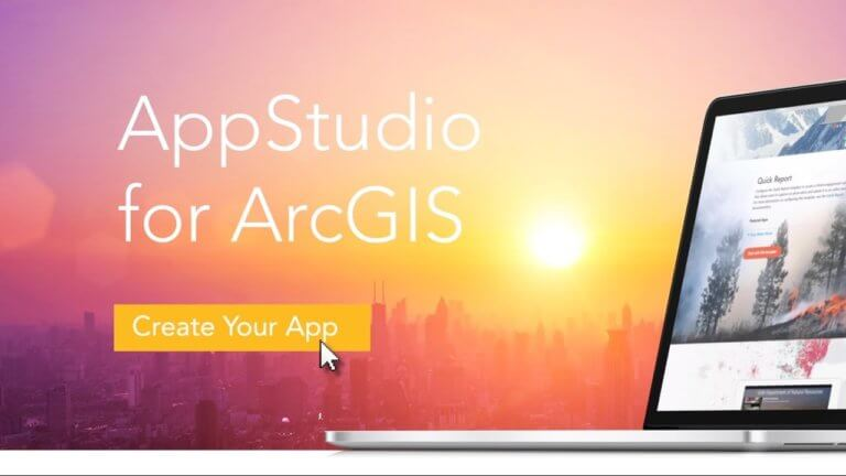 Appstudio for ArcGIS