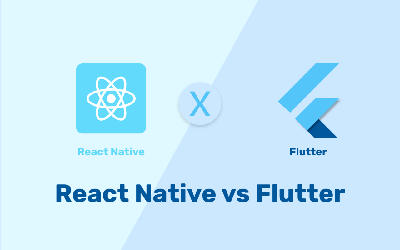 Flutter and React Native App Development