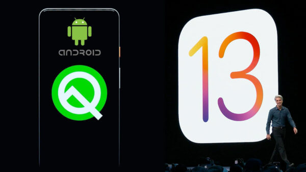 Android Q v/s iOS 13