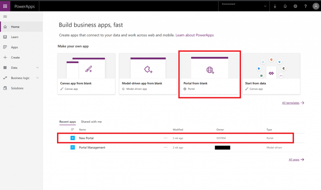 PowerApps Portal: Out for Public Review | Blogs Concetto Labs
