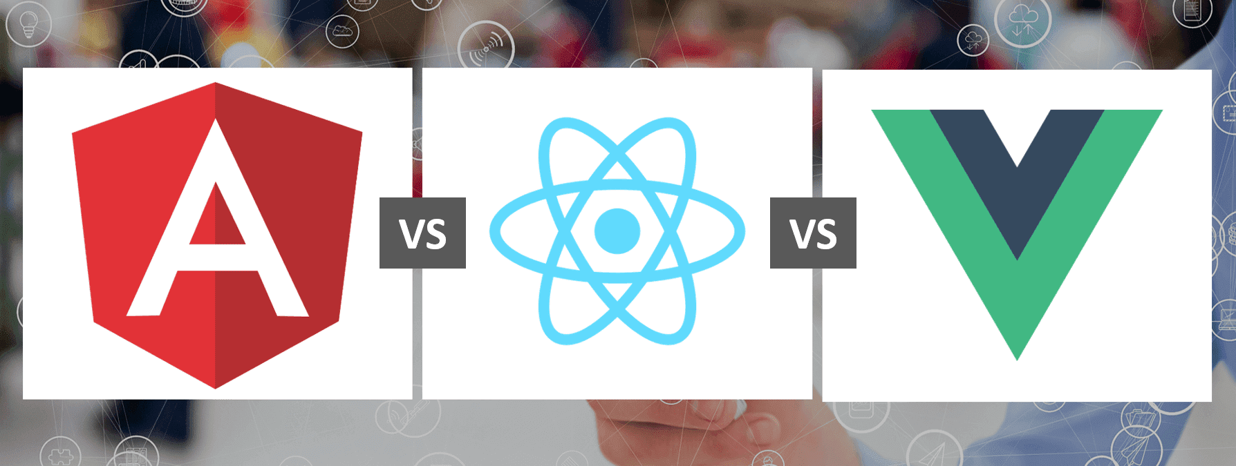 Comparison Of ReactJs, AngularJs, and VueJs