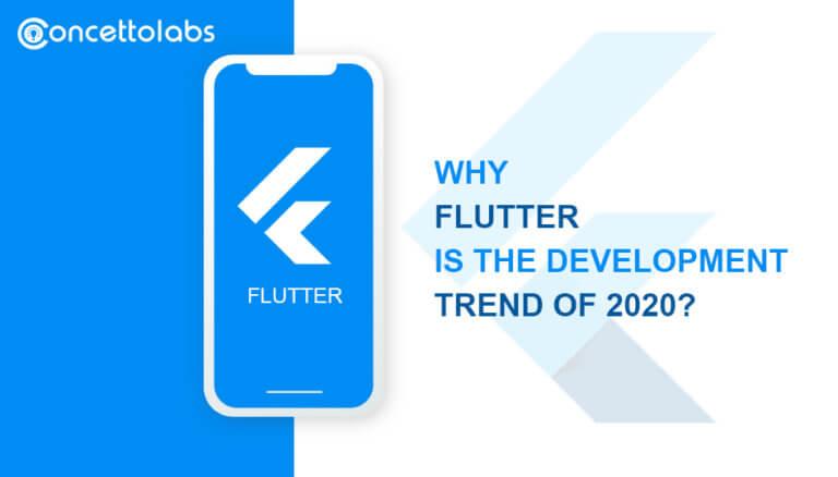 Flutter development trend 2020