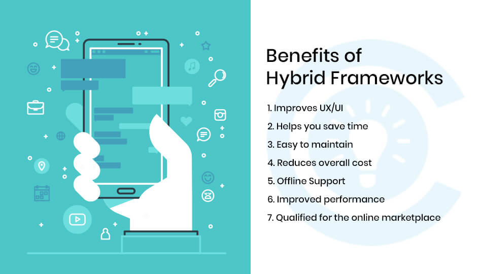 Benefits of hybrid framework