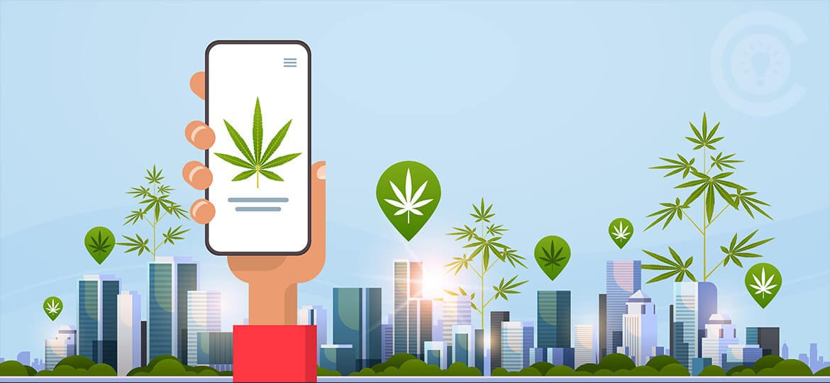 cannabis app development