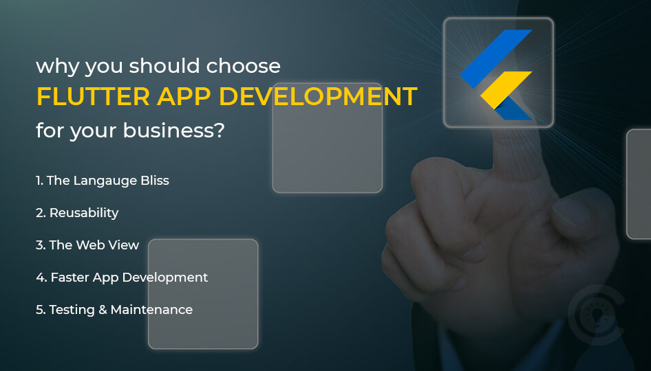 why you should choose flutter app development for your business?