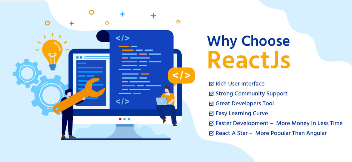 Top Reasons To Go With ReactJS