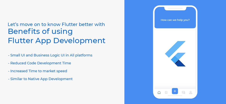 Benefits of using Flutter App Development