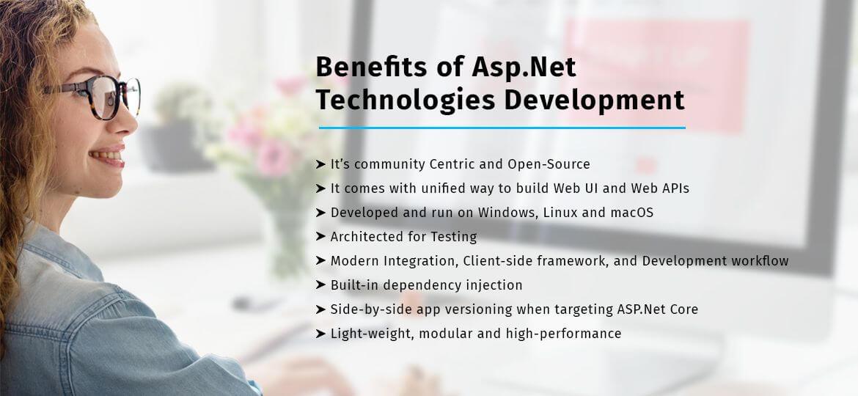 Benefits of Asp.Net technologies Development
