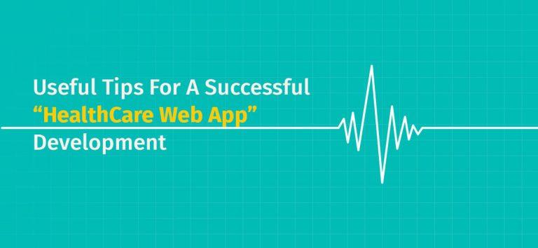 healthcare web app
