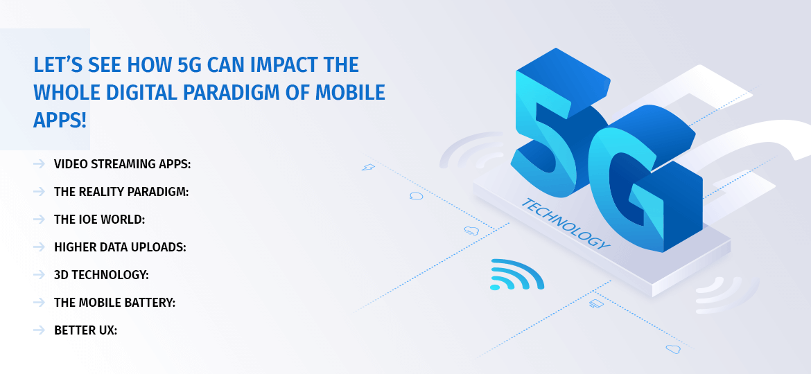 let's see How 5G can impact the whole digital paradigm of mobile apps!