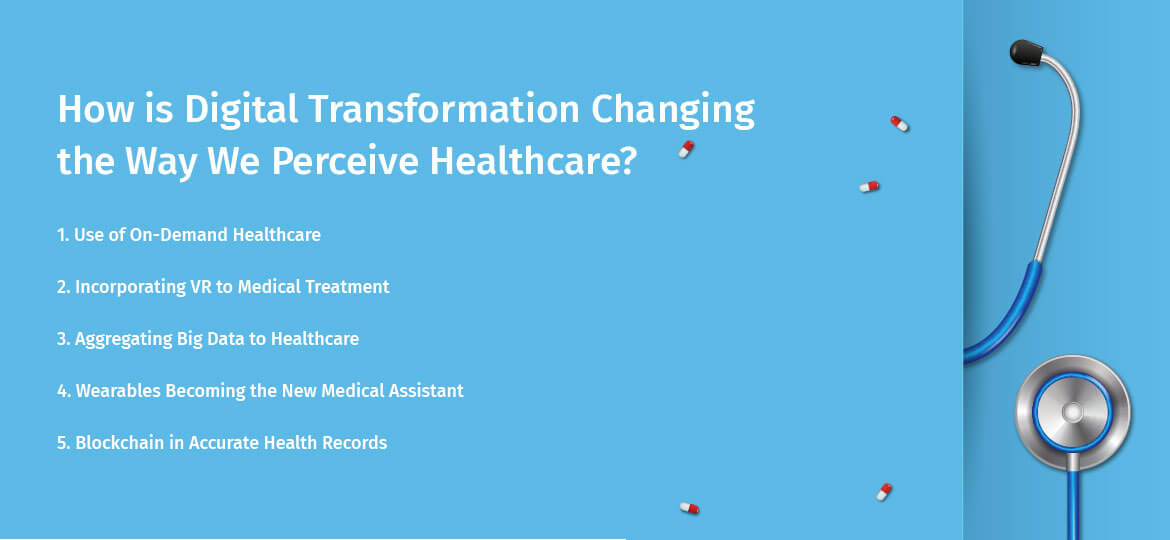 How is Digital Transformation Changing the Way We Perceive Healthcare?
