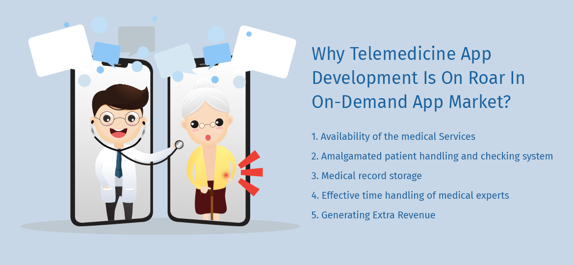 Why Telemedicine App Development Is On Roar In On-Demand App Market?