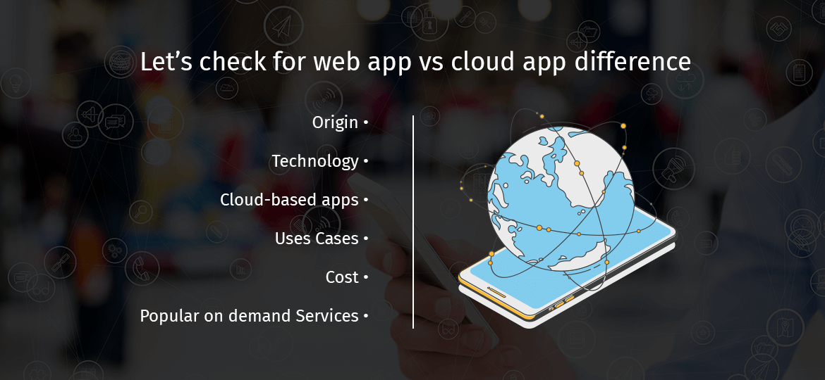 Let's check for web app vs cloud app difference