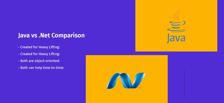 Java vs .Net Comparison