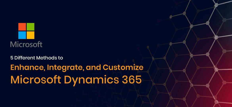 Customize Dynamics 365