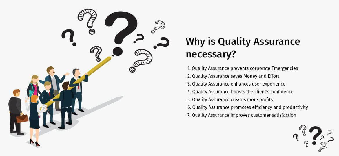 Why is Quality Assurance necessary?