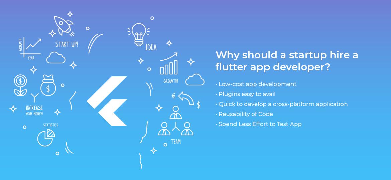 Why should a startup hire a flutter app developer?