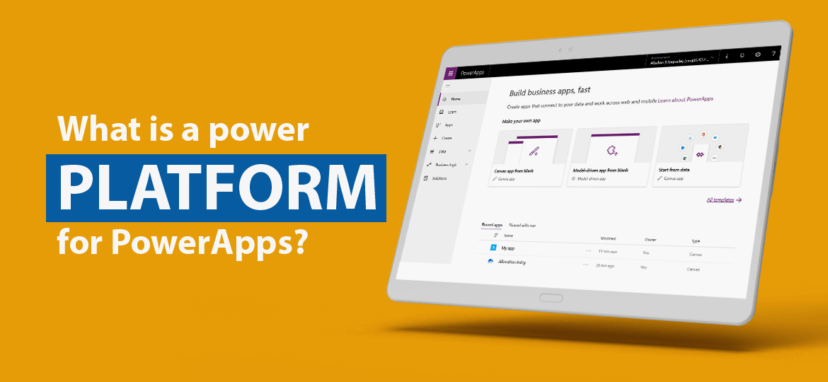 Power Apps app's
