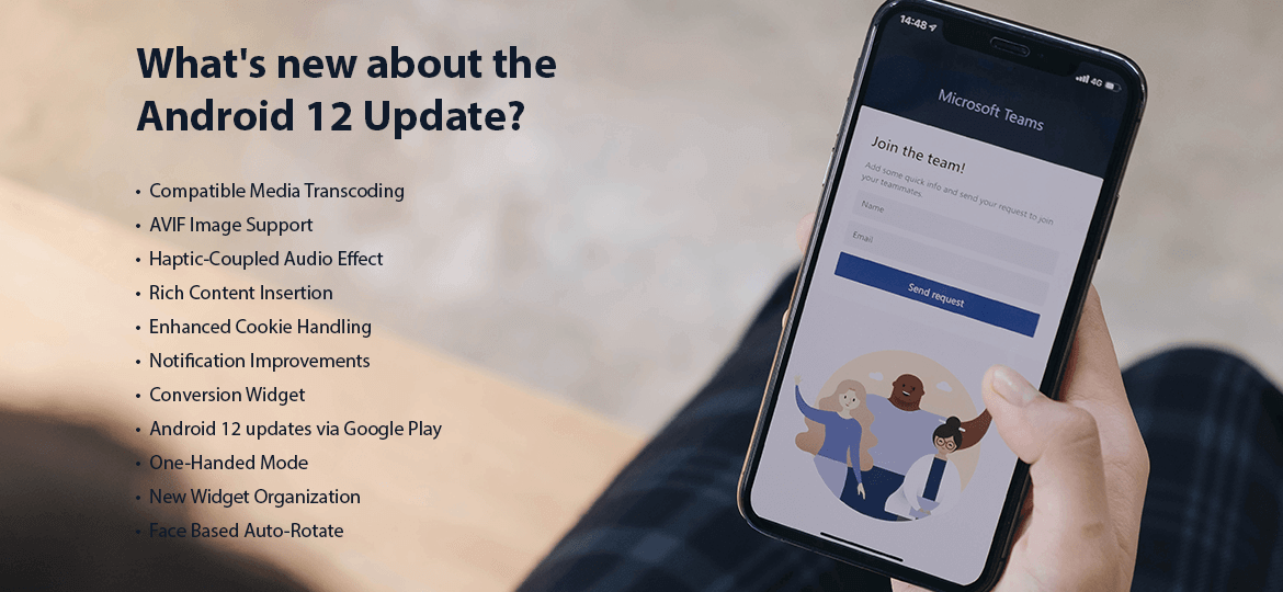 What's new about the Android 12 Update?