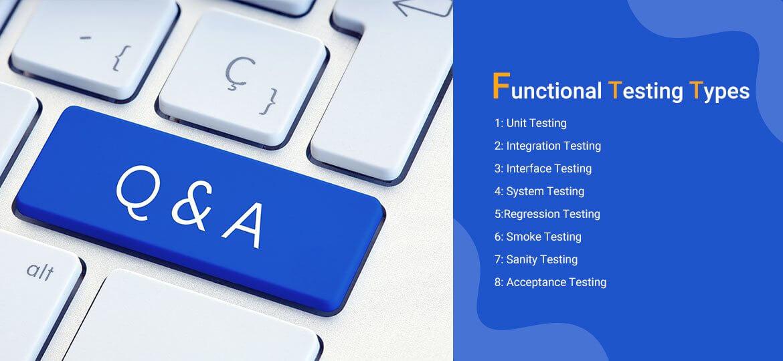 Functional Testing Types