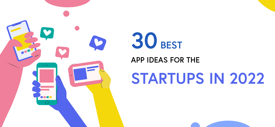 30 Best App Ideas for the startups in 2022 | Blog Concetto Labs