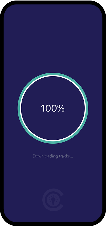 Downloading  Screen