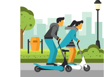 Scooter Sharing app development company