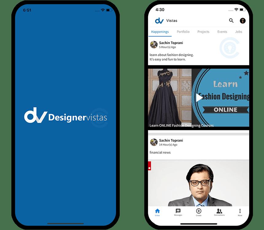 Social Media App for Designers