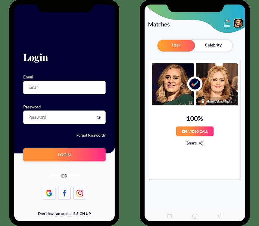 Look Alike App Developement
