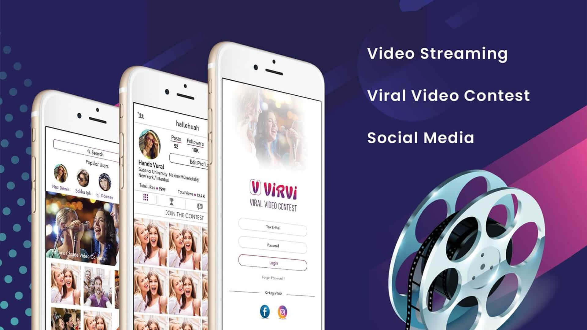 Social Media Viral Video Streaming App2