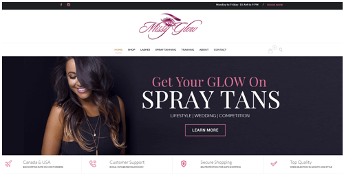 E-Commerece Website for beauty products