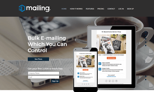 High volume bulk email service