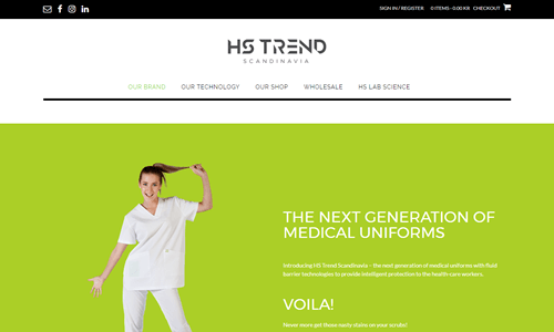 E-Commerece Website For Health care fashion