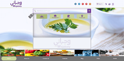 Online Food Ordeing Website